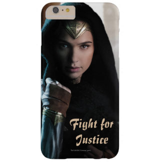 Funda Barely There iPhone 6 Plus Mujer Maravilla en capa