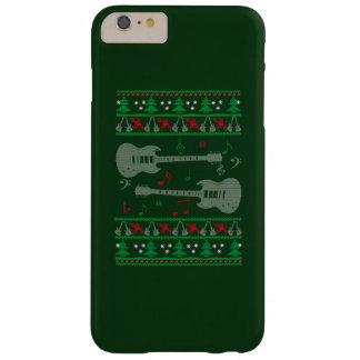 Funda Barely There iPhone 6 Plus Navidad de la guitarra