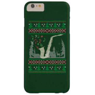Funda Barely There iPhone 6 Plus Navidad del saxofón