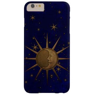 Funda Barely There iPhone 6 Plus Noche estrellada de la luna celestial de Sun