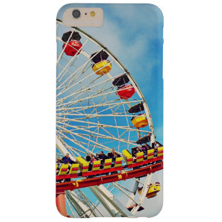 Funda Barely There iPhone 6 Plus Noria del carnaval de la diversión y foto de la