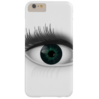 Funda Barely There iPhone 6 Plus Ojo verde