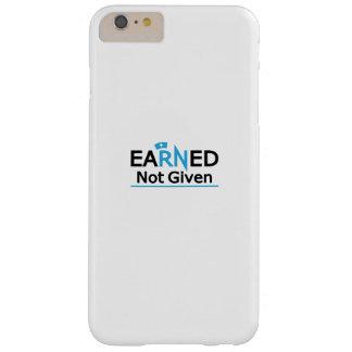 Funda Barely There iPhone 6 Plus orgullo nacional no dado ganado RN de la enfermera