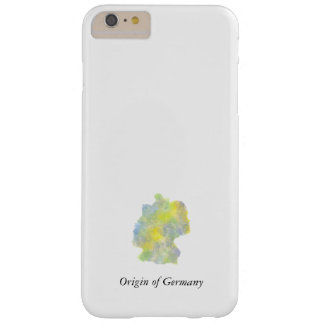 Funda Barely There iPhone 6 Plus Origen de la caja del teléfono de Alemania Hülle
