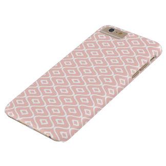 Funda Barely There iPhone 6 Plus ornamento del Rosado-melocotón - iPhone de los