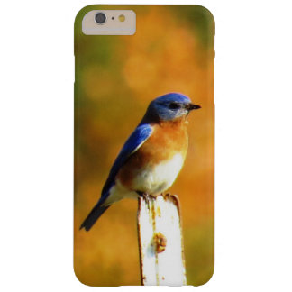 Funda Barely There iPhone 6 Plus ¡Pájaro azul en caída!