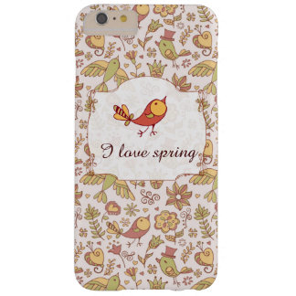 Funda Barely There iPhone 6 Plus Pájaros