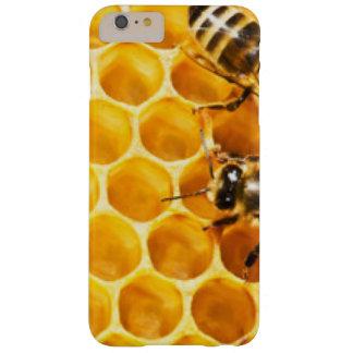 Funda Barely There iPhone 6 Plus Panal y diseño del modelo de las abejas