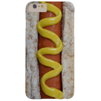 Funda Barely There iPhone 6 Plus perrito caliente delicioso con la fotografía de la
