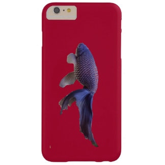 Funda Barely There iPhone 6 Plus pescados azules en rosa