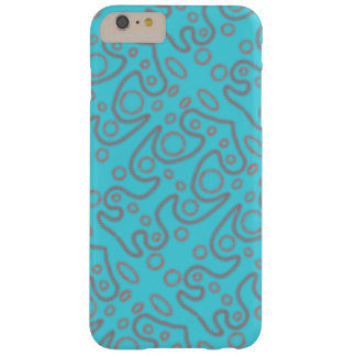 Funda Barely There iPhone 6 Plus Phonecover azul del diseño