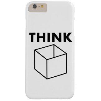 Funda Barely There iPhone 6 Plus piense en la caja