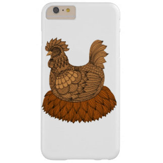 Funda Barely There iPhone 6 Plus Pollo