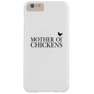 Funda Barely There iPhone 6 Plus Pollos de Morther alrededor del amante del mascota