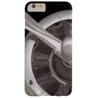 Funda Barely There iPhone 6 Plus Primer del propulsor de aeroplano