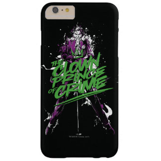 Funda Barely There iPhone 6 Plus Príncipe Of Crime Ink Art del payaso del comodín