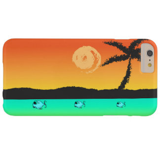 Funda Barely There iPhone 6 Plus Puesta del sol de la isla