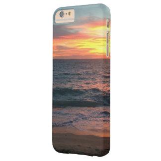 Funda Barely There iPhone 6 Plus Puesta del sol en la playa - iPhone 6/6s más el