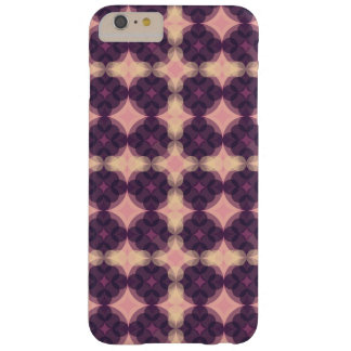 Funda Barely There iPhone 6 Plus Purple Kaleidoscope Pattern