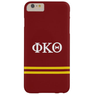 Funda Barely There iPhone 6 Plus Raya del deporte de la theta el | de Kappa de la
