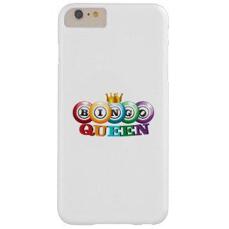 Funda Barely There iPhone 6 Plus Regalo del jugador del bingo de la reina del bingo