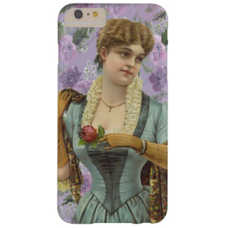 Funda Barely There iPhone 6 Plus Señora Phone Case de Edwardian del vintage