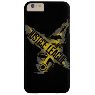Funda Barely There iPhone 6 Plus Símbolos de la liga y del equipo de justicia de la