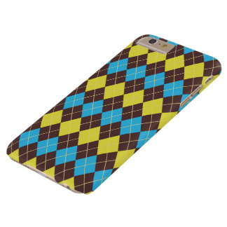 Funda Barely There iPhone 6 Plus Tartán-Modelo escocés 70s…