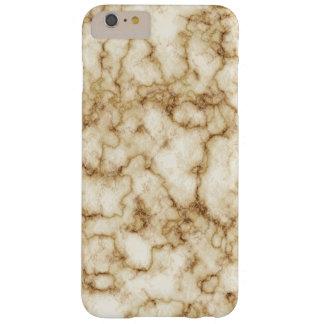 Funda Barely There iPhone 6 Plus Textura de mármol elegante