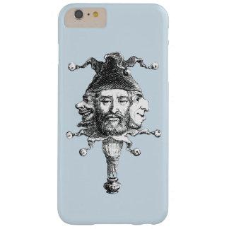 Funda Barely There iPhone 6 Plus Tres cabezas, una caja del teléfono del gorra