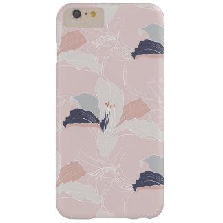 Funda Barely There iPhone 6 Plus Tropical se ruboriza la caja floral del teléfono