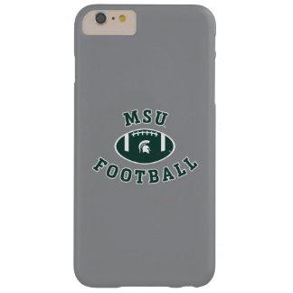 Funda Barely There iPhone 6 Plus Universidad de estado del fútbol el | Michigan de