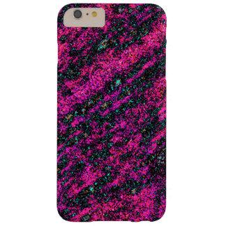 Funda Barely There iPhone 6 Plus Verde esmeralda y belleza rosada oscura