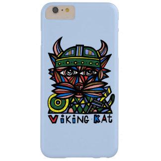 """Funda Barely There iPhone 6 Plus """"Viking Kat"""" Apple y Samsung llama por teléfono al"""