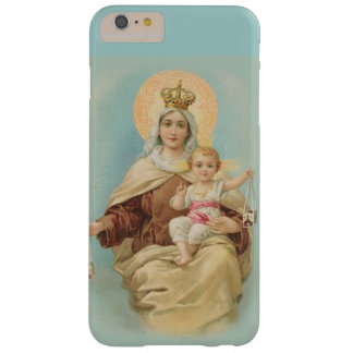 Funda Barely There iPhone 6 Plus Virgen María el monte Carmelo Jesús escapular