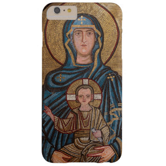 Funda Barely There iPhone 6 Plus Virgen María y mosaico de Jesús