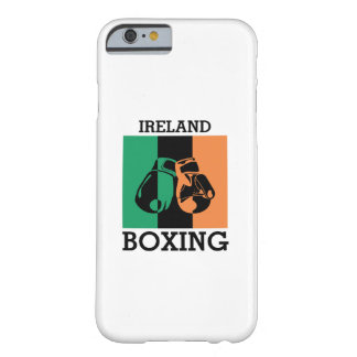 Funda Barely There iPhone 6 Regalo de las fans de boxeo para encajonar el
