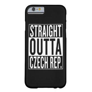 Funda Barely There iPhone 6 República Checa del outta recto