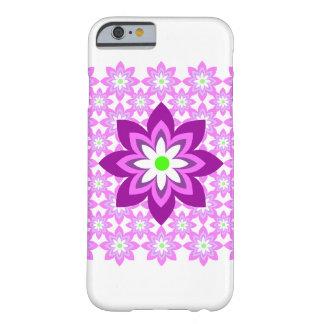 Funda Barely There iPhone 6 Rosa del batik de las flores