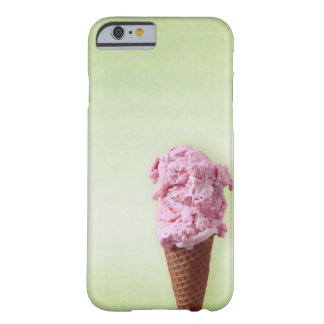 Funda Barely There iPhone 6 Rosa verde del helado - diversión - iPhone 6/6s