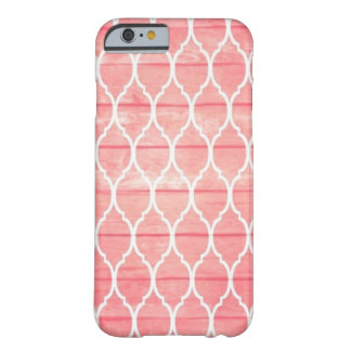 Funda Barely There iPhone 6 Rosado-Líneas iPhone 6/6s