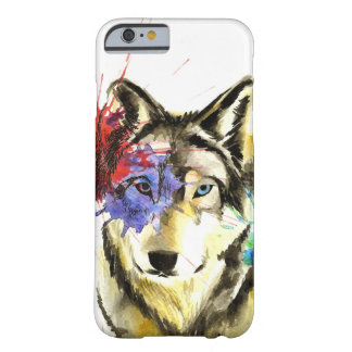 Funda Barely There iPhone 6 Salpicadura del lobo