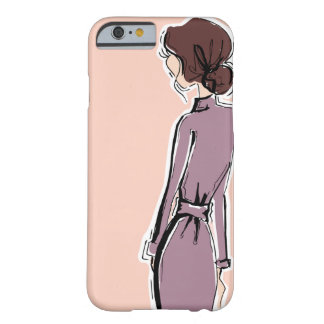 Funda Barely There iPhone 6 Señora en lavanda