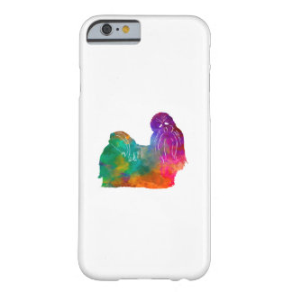 Funda Barely There iPhone 6 Shih Tzu in watercolor