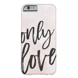 Funda Barely There iPhone 6 Solamente amor