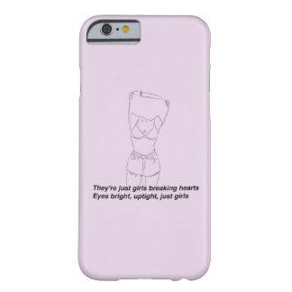 Funda Barely There iPhone 6 Son apenas chicas - el caso 1975 del iPhone