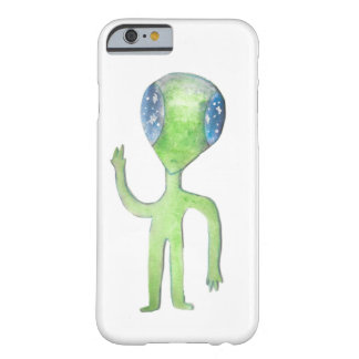 Funda Barely There iPhone 6 Sr. Alien Phone Case