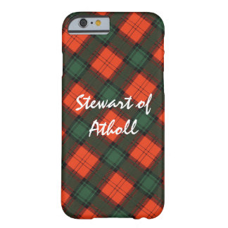 Funda Barely There iPhone 6 Stewart del tartán escocés de la falda escocesa de