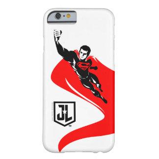Funda Barely There iPhone 6 Superhombre de la liga de justicia el | que vuela
