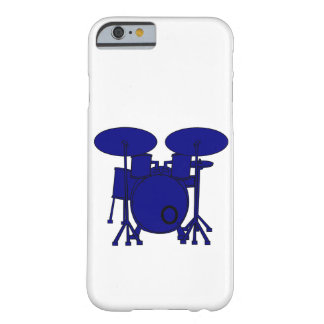 Funda Barely There iPhone 6 Tambor azul